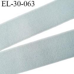 élastique 30 mm spécial lingerie, sport  caleçon couleur gris oeko-tex haut de gamme prix au mètre
