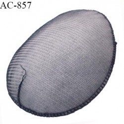 Epaulette mousse haut de gamme  largeur 12.5 cm longueur 15 cm épaisseur 3 mm prix à la pièce