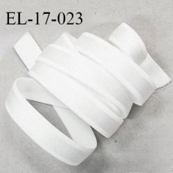 Elastique 16 mm bretelle et lingerie couleur écru brillant très beau fabriqué en France pour une grande marque prix au mètre