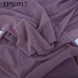 Powernet spécial lingerie extensible  chair foncé ou chocolat au lait haut de gamme largeur 130 cm prix pour 10 cm longueur