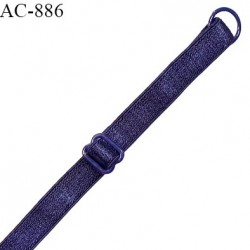 Déstockage Bretelle lingerie SG 10 mm couleur bleu brillant prix à l'unité