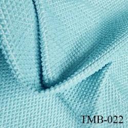 Tissu maillot de bain très haut de gamme couleur vert lagon largeur 130 cm 150 grs au m2 prix pour 10 centimètres