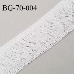 Galon frange 70 mm couleur naturel largeur 70 mm prix au mètre