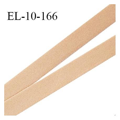 Elastique lingerie 10 mm haut de gamme couleur chair élastique souple fabriqué en France largeur 10 mm prix au mètre