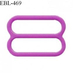 Réglette 16 mm de réglage de bretelle pour soutien gorge et maillot de bain en pvc couleur violet prix à l'unité