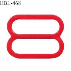 Réglette 16 mm de réglage de bretelle pour soutien gorge et maillot de bain en pvc couleur rouge prix à l'unité