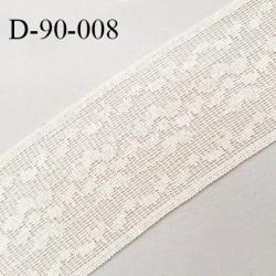 Dentelle 90 mm crochet couleur beige largeur 90 mm prix au mètre