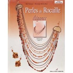 Perles de rocaille élégance livre revue Mick FOURISCOT Maryvonne MOREAU BEYER édition Didier CARPENTIER