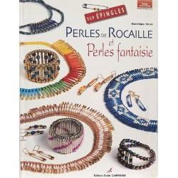 Perles de rocaille et perles fantaisie sur épingles livre revue Dominique HERVE