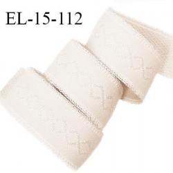 Elastique 15 mm bretelle et lingerie couleur étincelle haut de gamme largeur 15 mm prix au mètre