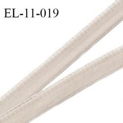 Elastique picot 11 mm couleur étincelle haut de gamme superbe largeur 11 mm prix au mètre