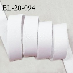 Elastique 19 mm bretelle et lingerie haut de gamme couleur quartz fabriqué en France prix au mètre