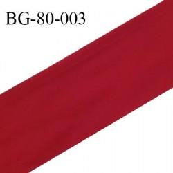 Galon rehausse 80 cm couleur bordeaux largeur 80 cm prix au mètre