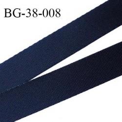 Sangle polyamide 38 mm couleur noir très très solide largeur 38 mm épaisseur 1 mm prix au mètre