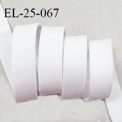 Elastique 24 mm bretelle et lingerie haut de gamme couleur blanc fabriqué en France prix au mètre