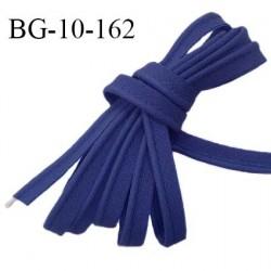 Passepoil 10 mm coton couleur bleu marine largeur 10 mm avec cordon intérieur 2 mm prix au mètre
