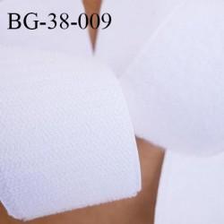 Scratch type velcro à coudre couleur blanc largeur 38 mm les 2 faces prix au mètre vous prenez la longueur que vous voulez