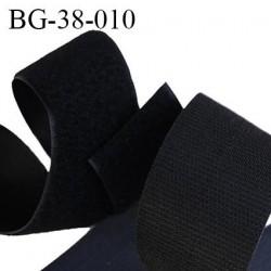 Scratch type velcro à coudre couleur noir largeur 38 mm les 2 faces prix au mètre vous prenez la longueur que vous voulez