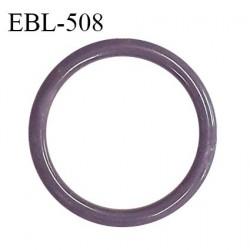 Anneau de réglage 18 mm en pvc couleur parme prune diamètre intérieur 18 mm diamètre extérieur 22 mm prix à l'unité