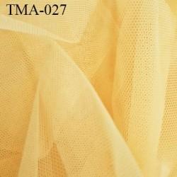 marquisette tulle spécial lingerie haut de gamme couleur abricot clair largeur 160 cm prix pour 10 cm