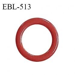 Anneau de réglage 8 mm en métal thermolaqué couleur terracotta diamètre intérieur 8 mm diamètre extérieur 13 mm prix à l'unité