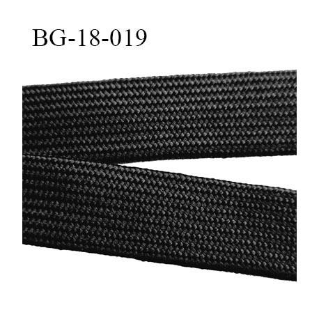 Sangle Lacet Cordon tubulaire 18 mm  nylon et polyester très très solide fabriqué en Europe largeur 18 mm