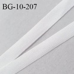 Biais sergé 10 mm rigide largeur 10 mm prix au mètre