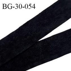 Galon ruban 30 mm lacette suedine couleur noir largeur 30 mm prix au mètre