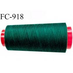 Cone 1000 m fil Polyester fil n°100 Coats épic couleur vert longueur du cône 1000 m bobiné en France