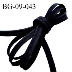 Passepoil 9 mm couleur noir avec cordon intérieur largeur 2 mm prix au mètre
