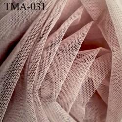 Marquisette tulle spécial lingerie haut gamme couleur chair ou chocolat au lait largeur 140 cm prix pour 10 cm 100 % polyamide