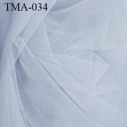 Marquisette tulle spécial lingerie haut gamme couleur gris clair largeur 140 cm prix pour 10 cm 100 % polyamide