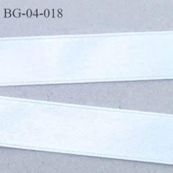 Galon ruban couleur blanc brillant lumineux double face très solide largeur 4 mm prix au mètre