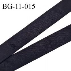 Biais galon ruban 11 mm gros grain très résistant couleur noir largeur 11 mm prix au mètre