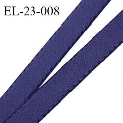 Elastique 22 mm lingerie haut de gamme fabriqué en France couleur bleu encre prix au mètre
