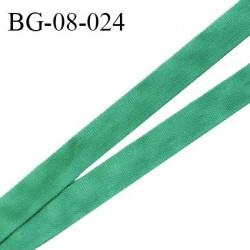Cache armature 8 mm ruban gros grain très résistant couleur vert largeur 8 mm prix au mètre