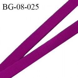 Devant bretelle 8 mm en polyamide attache bretelle rigide pour anneaux couleur violine haut de gamme prix au mètre