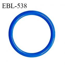 Anneau de réglage 18 mm en pvc couleur bleu diamètre intérieur 18 mm diamètre extérieur 22 mm épaisseur 2 mm prix à l'unité