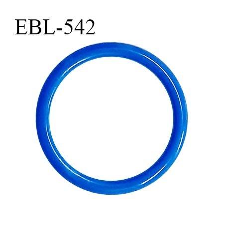 Anneau de réglage 14 mm en pvc couleur bleu diamètre intérieur 14 mm diamètre extérieur 18 mm épaisseur 2 mm prix à l'unité