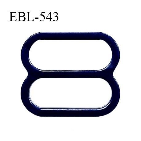 Réglette 17 mm de réglage de bretelle pour soutien gorge et maillot de bain en pvc bleu marine intérieur 17 mm prix à l'unité