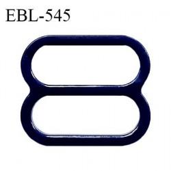 Réglette 19 mm de réglage de bretelle pour soutien gorge et maillot de bain en pvc bleu marine intérieur 19 mm prix à l'unité