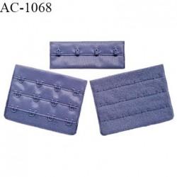 Agrafe 76 mm attache SG haut de gamme couleur encre bleue 3 rangées 4 crochets largeur 76 mm hauteur 57 mm prix à l'unité