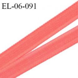 Elastique 6 mm fin spécial lingerie polyamide élasthanne couleur rose d'été grande marque fabriqué en France prix au mètre
