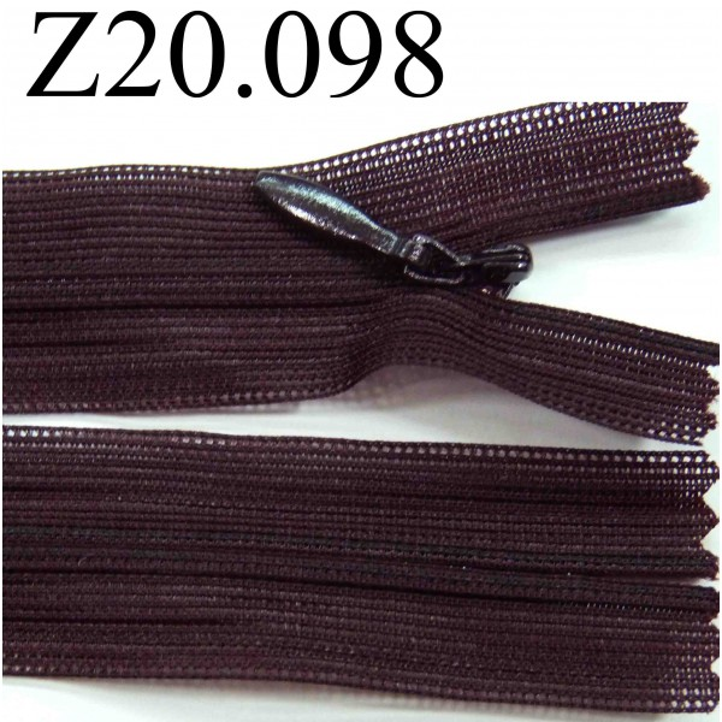 fermeture zip glissi re invisible longueur 20 cm couleur. Black Bedroom Furniture Sets. Home Design Ideas