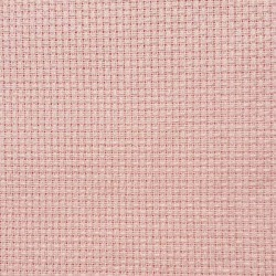 Toile zweigart aida couleur rose layette 8 pts support idéal pour la broderie