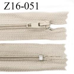 Fermeture zip 16 cm