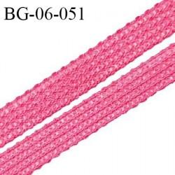 Droit fil à plat 6 mm spécial lingerie et couture couleur rose ballerine grande marque fabriqué en France prix au mètre