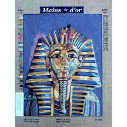 Canevas 45x60 marque MAINS D'OR pharaon dimension 45 centimètres par 60 centimètres 100 % coton