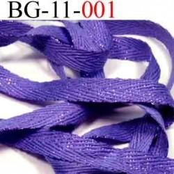 biais galon ruban  couleur violet avec des strass double face superbe largeur 11 mm vendu au mètres