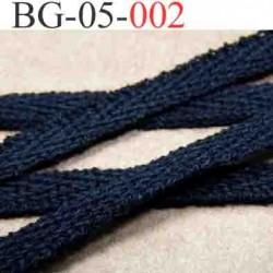 biais galon ruban couleur noir  largeur 5 mm vendu au mètre